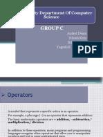 Presentation Java Operators 2012 Final