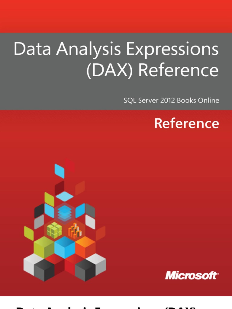 Data Analysis Expressions - DAX - Reference   Data Type