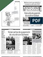 Versión impresa del periódico El mexiquense 31 julio 2012