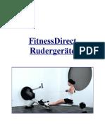 FitnessDirect Rudergeräte PDF