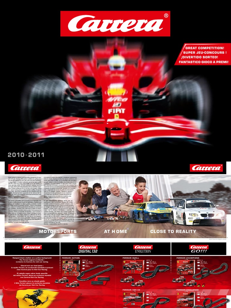 abca19a79f4e0e Carrera Slot Cars - Catalogue Katalog - 2010-2011