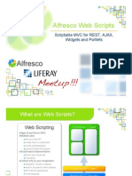 Alfresco WebScripts