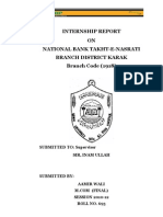 NBP Internship Report
