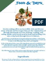Greek Recipies 2008