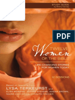 Twelve Women of the Bible Group Bible Study with Lysa TerKeurst - Sample