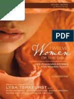 Twelve Women of the Bible Group Bible Study with Lysa TerKeurst - Sample