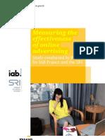 IAB SRI Online Advertising Effectiveness v3