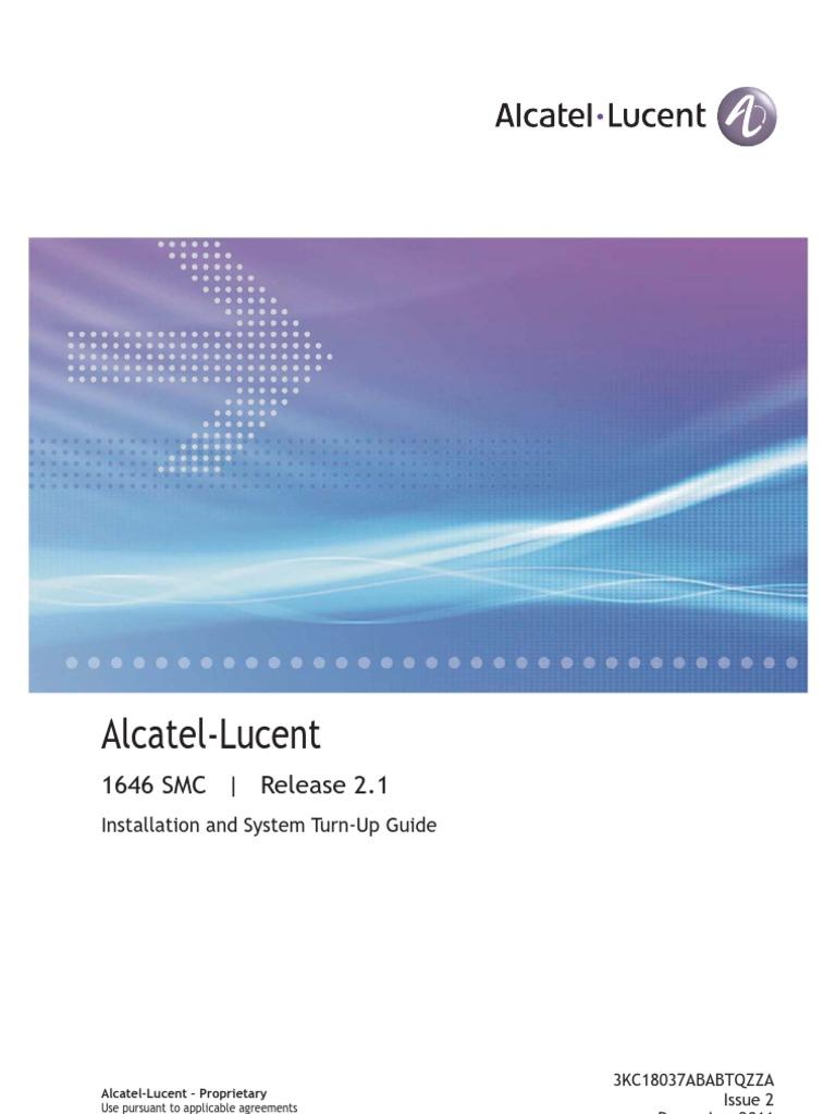 Alcatel Service Menu