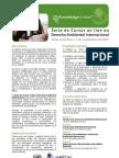 E-Cursos en Derecho Ambiental Internacional 2012