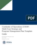 Coop Multi Year Plan Guide