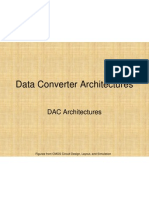 Data Converter Architecturess