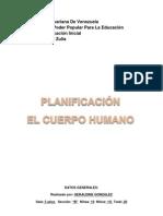 Planificacion Del Cuerpo Humano