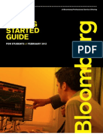 Bloomberg Terminal Getting Started Students