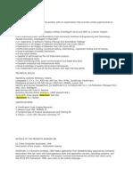 Selenium Resume 2