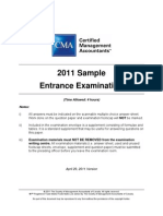 2011 EE Sample Exam