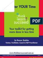 Master Your Time Book