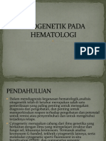 Sitogenetik Pada Hematologi