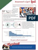 Speed Measurement in Sport
