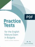 Practice Tests for the Matura Exam in Bulgaria