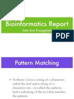 Pattern Matching + Hashing
