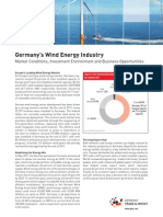 Fact Sheet Wind Energy in Germany