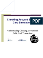 Checking Account and Debit Card Simulation