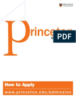 Princeton Application