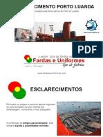 Fardamento Porto Luanda Angola