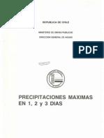 Precipitaciones y Mapa de Isoyetas