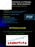 Presentacion de Proyecto de Inv. Cientifica Corrupcion