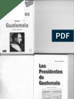 PRESIDENTES DE GUATEMALA