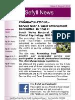 Sefyll News August 12