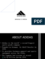 ADIDAS and Its Promotional Strategies