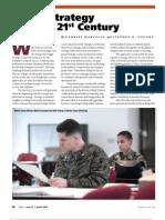 Teaching Strategy in 21st Century-JFQ-2009