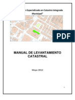 Manual de Levantamiento Catastral Municipal