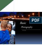 Basic Photography 2