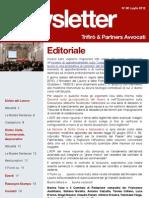 Newsletter T&P N°60