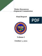 Water Resources Development Report - Arizona 2011