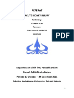 Acute Kidney Injury Redly