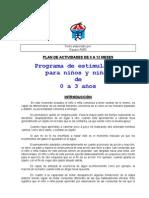 PLAN DE ACTIVIDADES DE 9 A 12 MESES