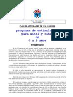 PLAN DE ACTIVIDADES DE 12 A 15 MESES