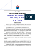 PLAN DE ACTIVIDADES DE 18 A 21 MESES