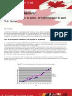 Le Sport Au Feminin