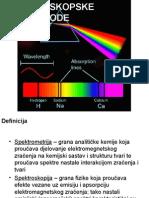 Spektroskopske Metode