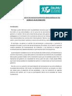 AG3 - El rol de la juventud en los nuevos movimientos democráticos en los países en vía de desarrollo