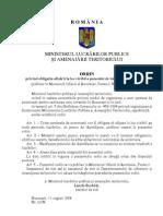 Lege Panou Identificare Santier