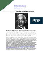 Un José Celso Barbosa Desconocido