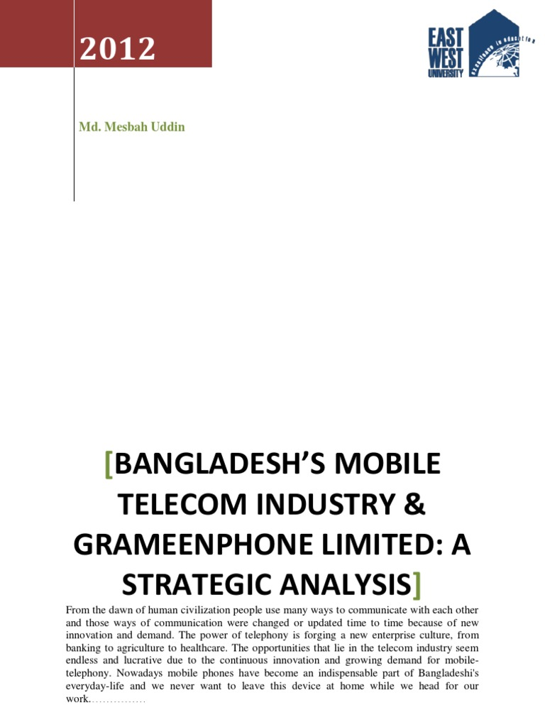 swot analysis on grameen phone bangladesh