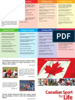 Canadian Sport for Life Poster