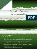 Concept of Aggression
